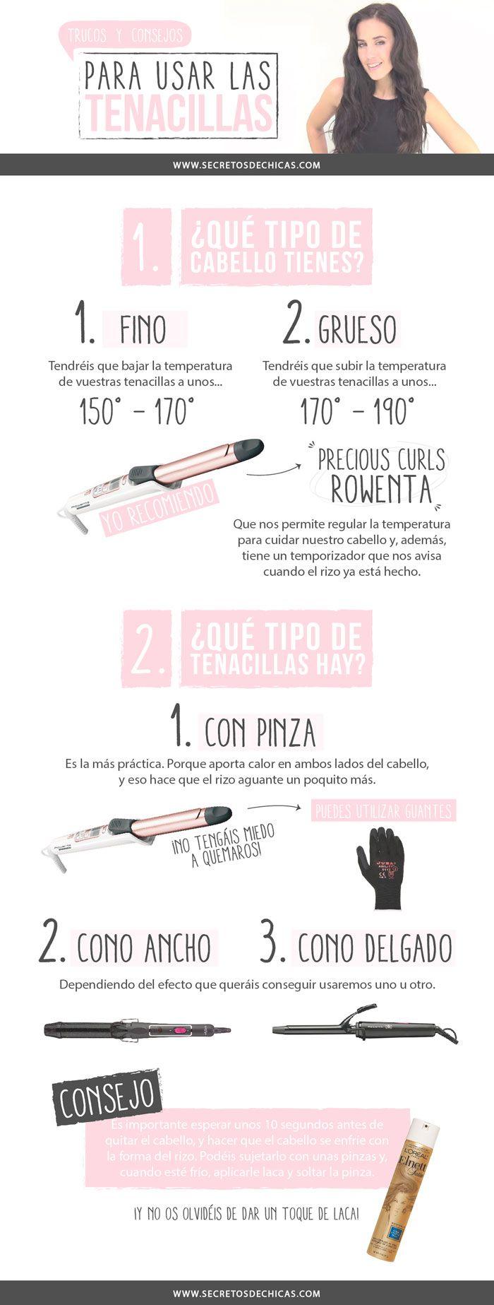Trucos y Consejos Para Usar Las Tenacillas _ Por Secretos De Chicas