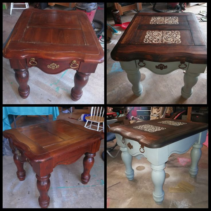 Refinish Ethan Allen Coffee Table: Best 25+ Redo End Tables Ideas Only On Pinterest