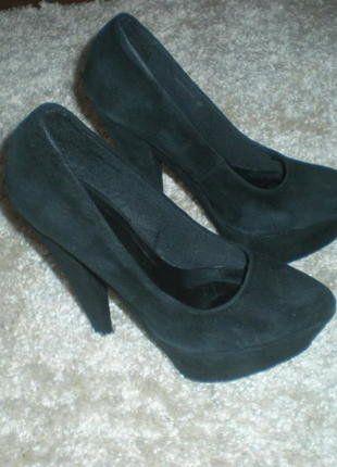 Kup mój przedmiot na #vintedpl http://www.vinted.pl/damskie-obuwie/na-wysokim-obcasie/16821637-czarne-szpilki-r-42-asos-platforma-black-highheels