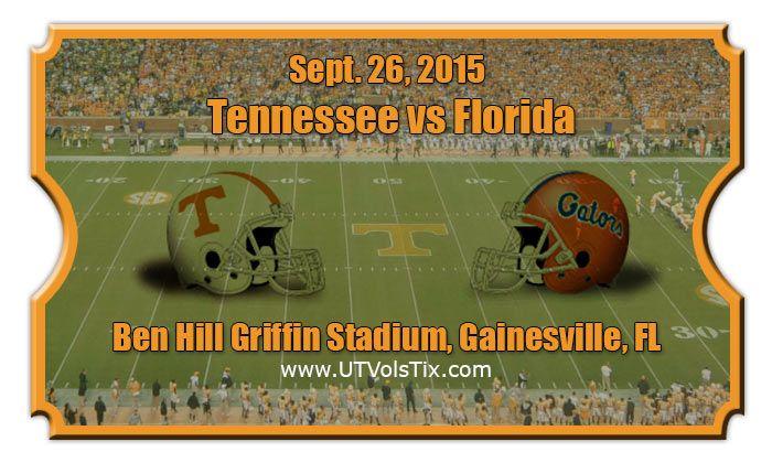 2015 Tennessee Vs Florida