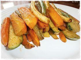 Nemehlo v kuchyni: Pečené fazuľové struky s mrkvou a cuketou