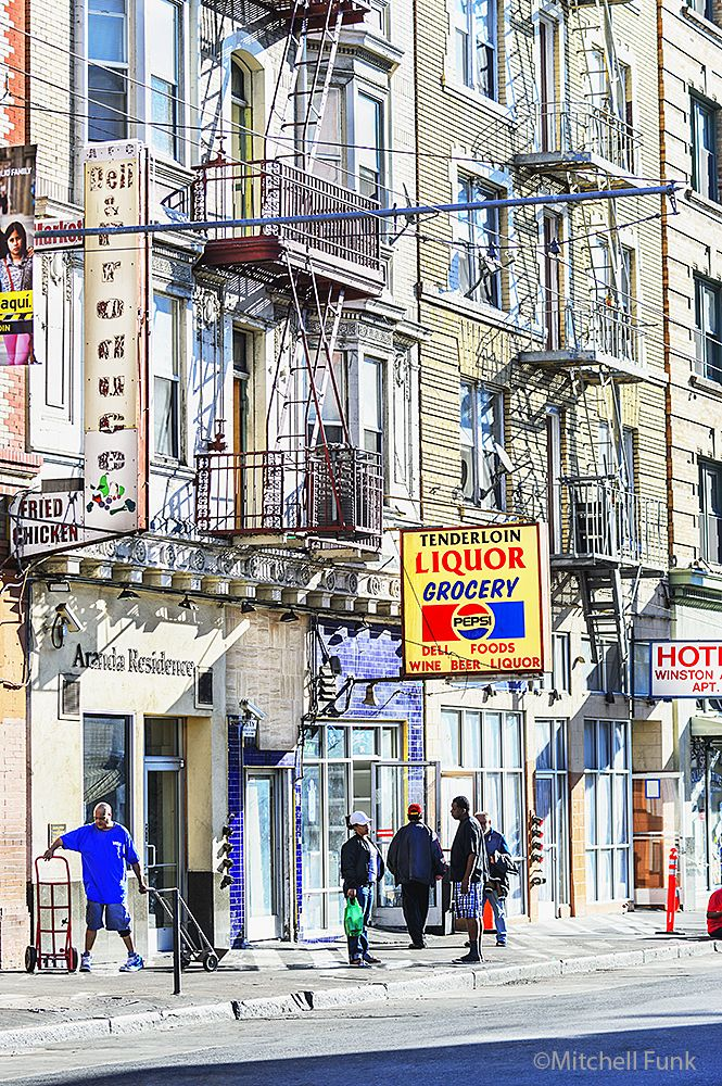 The Tenderloin District, San Francisco By Mitchell Funk www.mitchellfunk.com