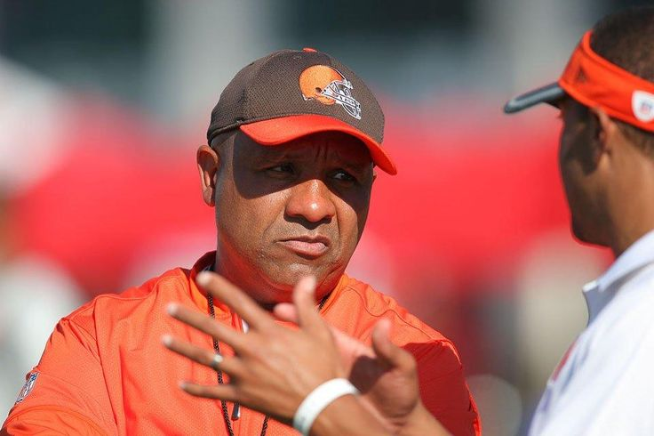 Hue Jackson - 16th Head Coach of the Browns - 2016 to ...