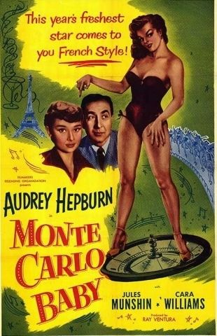 Monte Carlo Baby ~ as Linda Farrel ~ (1953) with Jules Munshin