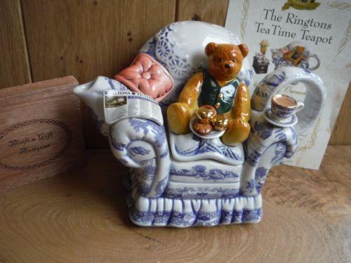 Ringtons-Paul-Cardew-Afternoon-Tea-Teddy-Bear-Teapot