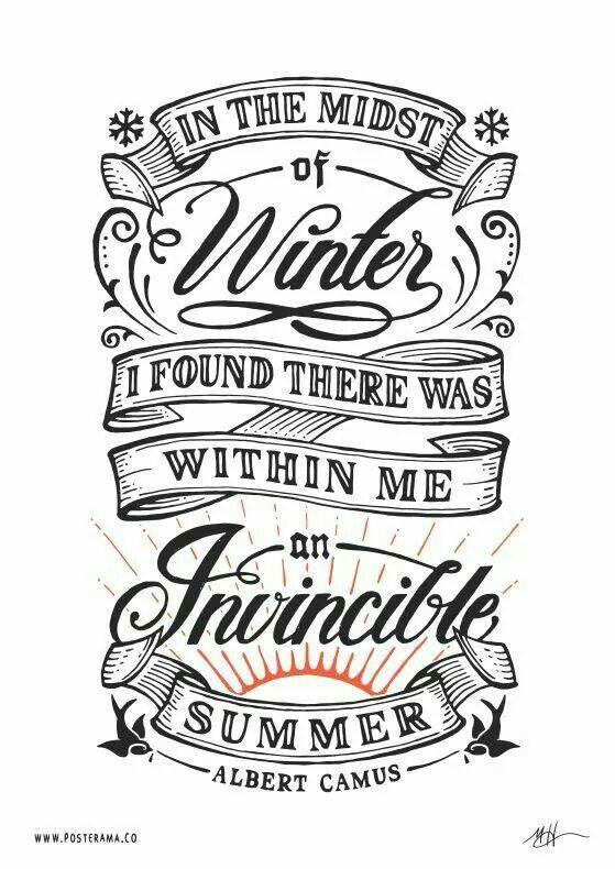 Invincible summer.