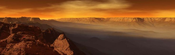 Valles Marineris (Mars) a canyon as long as the United States is wide and up to 4.3 miles (7 km) deep.