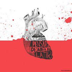 si el corazn pensara dejara de latir (OLGA de DIOS) Tags: corazon ilustracion olgadedios