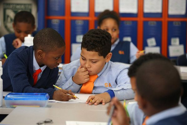 Apr 7, 2015 NICOLE BENGIVENO/THE NEW YORK TIMES Students at Success Academy Harlem North Central, which is part of the largest network of charter schools in New York City.