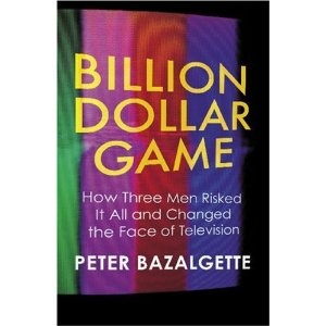 'Billion Dollar Game: How 3 Men Risked it All and Changed the Face of TV' - Peter Bazalgette. Really interesting book about how shows like 'Who wants to be a millionaire' and 'Big Brother' started and how Endemol, one of the biggest productions companies in the world began. Great read.
