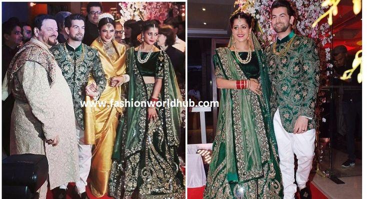 Newly weds Neil Nitin Mukesh and Rukmini Sahay held a grand wedding reception in Mumbai on February 18. Complete bollywood Celebrities including Amitabh Bachchan and Jaya Bachchan, singer Anuradha …