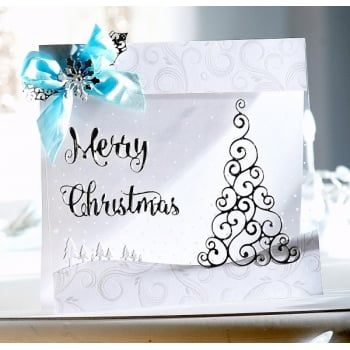 Crafters Companion Sara Signature Contemporary Christmas Collection - Seasonal Sentiment Die - Crafters Companion from Crafter's Companion UK