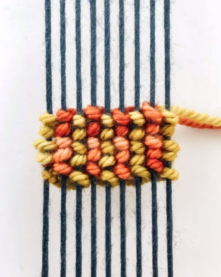 Diy Weaving Lindsey Campbell On Instagram Diy Friday Egyptian Knot Stripes Every Friday This Month Diy Weaving Weaving Loom Diy Weaving Loom Projects