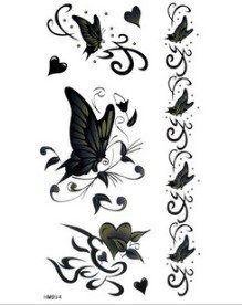 Шипинг & Retail едро Големите пеперуди Секс Tattoo Стикери временни татуировки Fake татуировки временни татуировки в Здраве & Beauty за AliExpress.com | Alibaba Group