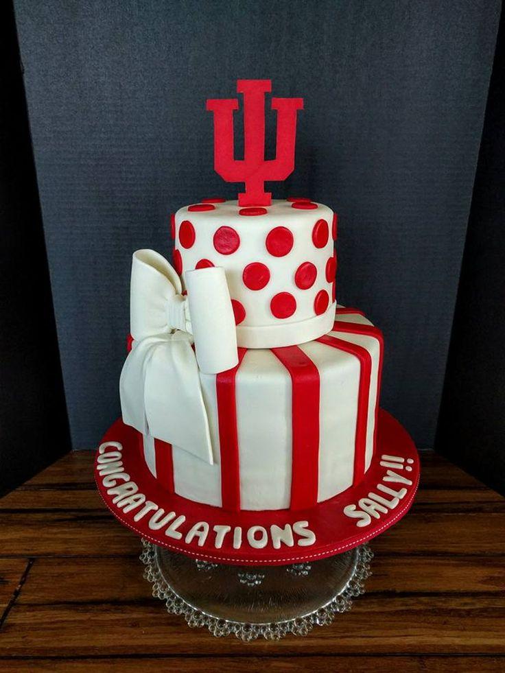 Iu College Graduation Cake
