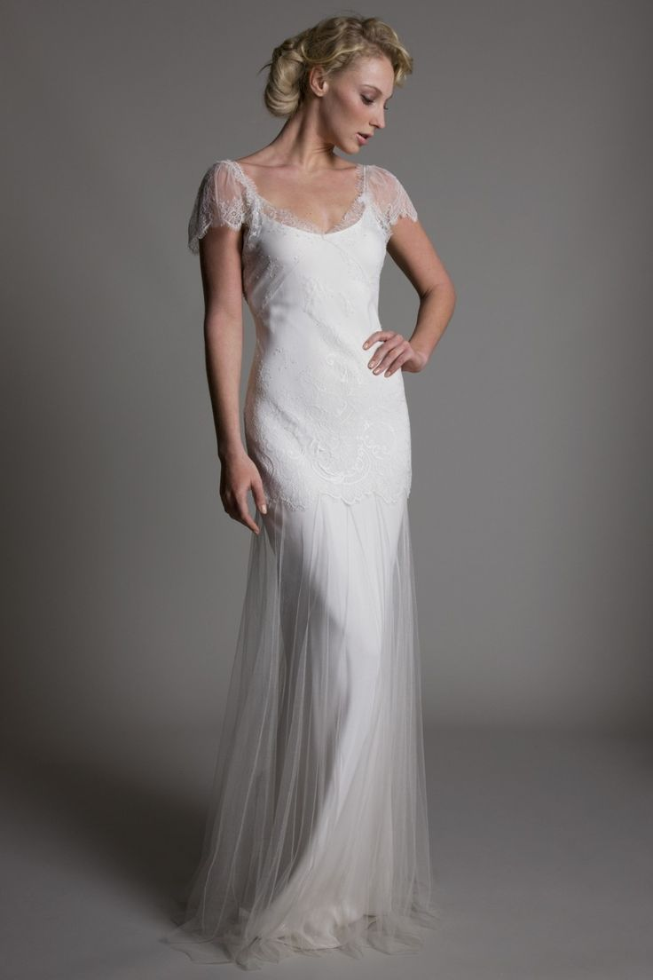 Pinterest flapper wedding dresses 1920s style and adrianna papell - Www Halfpennylondon Com Lace Wedding Dress Vintage Wedding Dresses London Bridal
