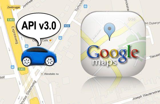 Google heeft z'n ondersteuning voor de vorige versie van de Google Maps API verlengd tot november 2013.