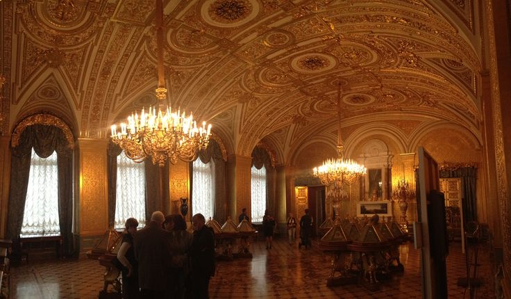 Golden hall, Hermitage.