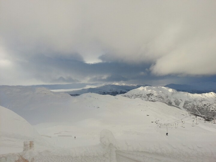 On the top of the mountain - Hemsedal
