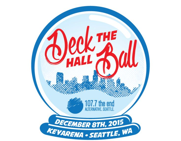 107.7 The End's Deck The Hall Ball 2015