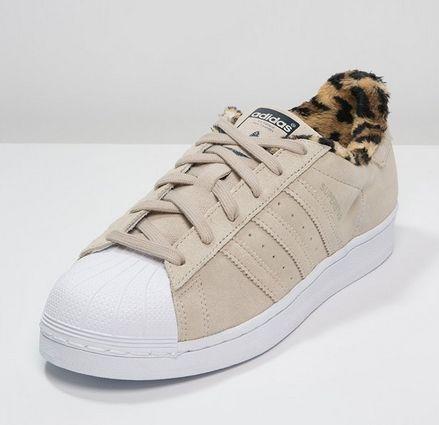 adidas Originals SUPERSTAR beżowe Trampki dust sand/white