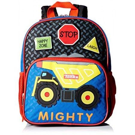 "Tonka Trucks Preschool 12"" Children's Backpack"