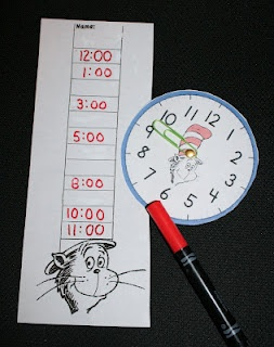 PK-2: Time For Seuss Clock Game