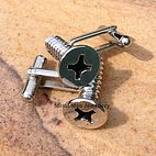 Metal Man Jewellery, Stainless Steel nuts and bolts jewellery   Cufflinks