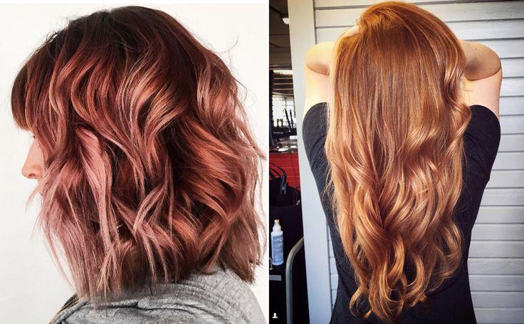 Höstens trendigaste hårfärg 2016 – rosé