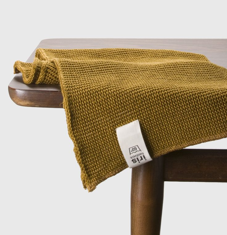 Knitted Linen Towel