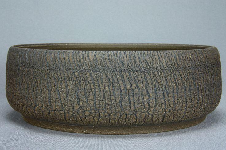 "Ø 22 cm / 8.7"" Bonsaischale Bonsai Pot Roman Husmann 6463"