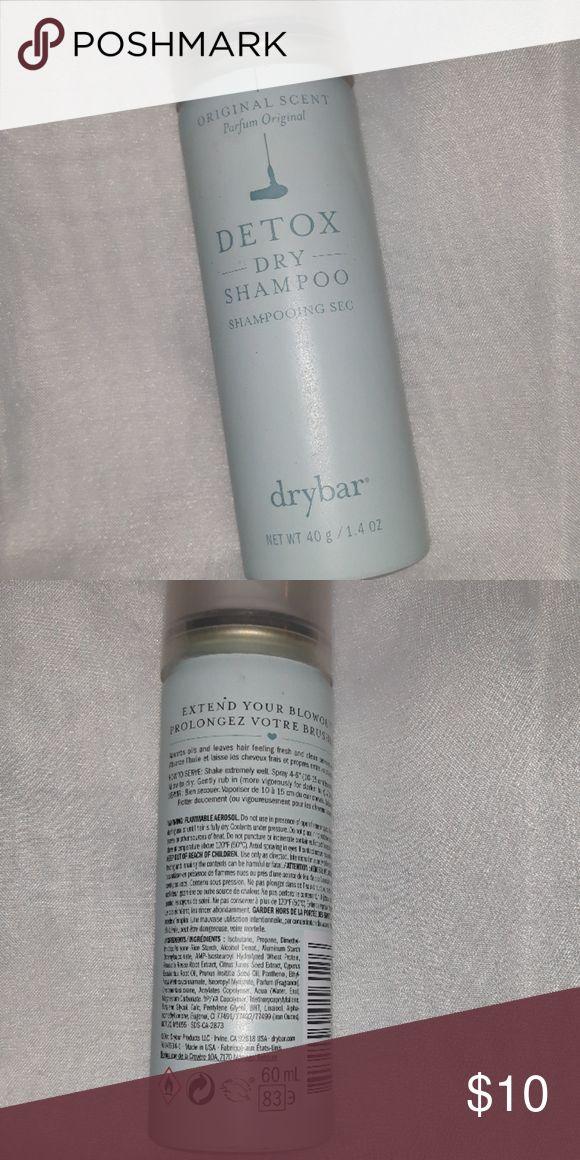 Detox Dry Shampoo Drybar Dry Shampoo Detox Drybar