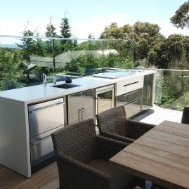 Beach House Outdoor Kitchen