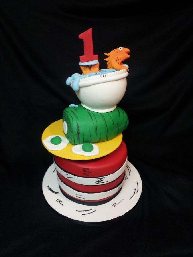 191 best Dr. Seuss Cakes images on Pinterest   Dr suess ...