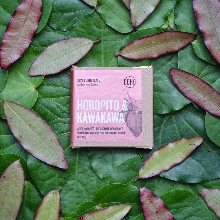 OCHO Horopito & Kawakawa - The Chocolate bar, craft chocolate specialists in New Zealand