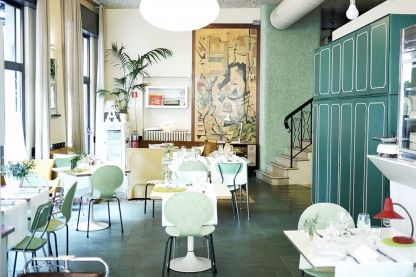 """Where chefs eat: Milan: The new edition of restaurant guide Where Chefs Eat reveals thousands of top chefs' dining favourites from all over the world. See the places they love in Milan here. Aromando BistrotRecommended by: Luigi TaglientiBest for: Bargain dining""""Sunday lunch in the homes of Milan's wealthy reinterpreted with meticulous food preparation and an excellent wine list."""" Photo © The Chic Fish"""