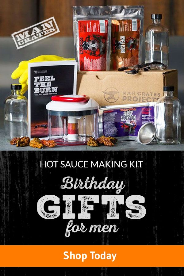 If it's true that we hurt the ones that we love the most, then Man Crates' Hot Sauce Making Kit gives you everything you need to show somone just how much you love them. #AwesomeGifts