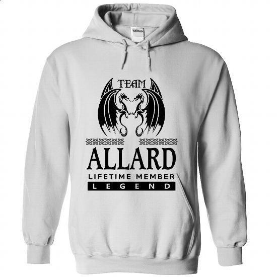 TA2403 Team ALLARD Lifetime Member Legend - silk screen #t shirt printer #movie t shirts