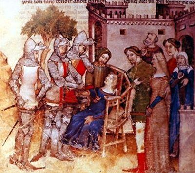 O Cálice da Última Ceia é guardado num castelo cujo rei sofre, continuamente, por causa de seus ferimentos. Suas feridas nunca cicatrizam e o fazem sofrer constantemente. O Rei Pescador habita o castelo que guarda o Graal, porém não pode tocá-lo e, nem ser curado por ele.