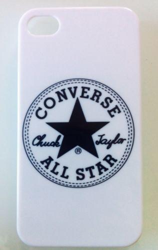 Carcasa+Funda+Iphone+4+/+4S+Logo+Converse+Case+Rigida+Envio+Desde+España