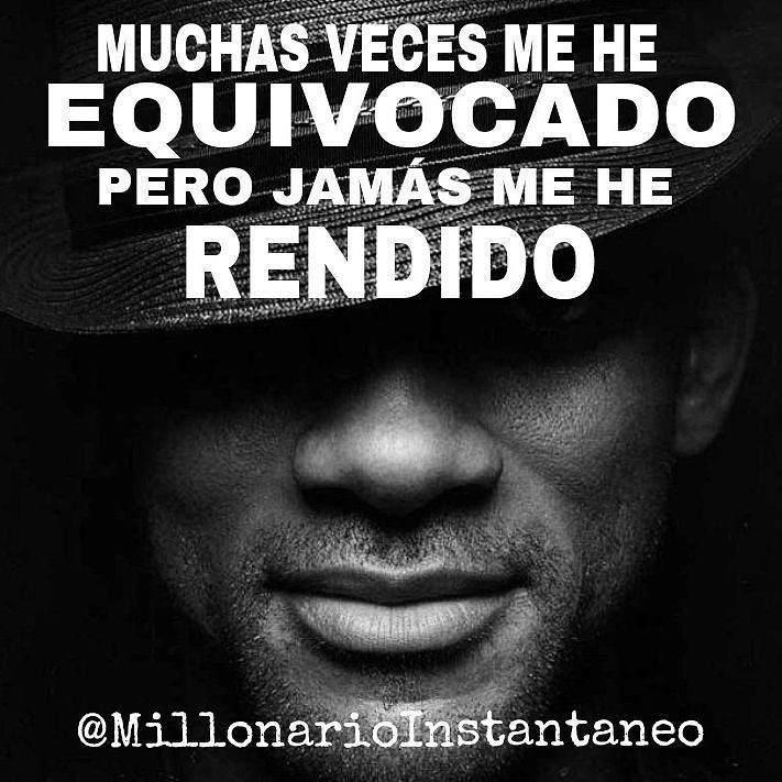 "Time for motivational quotes by santylomitas regram @millonarioinstantaneo ""MUCHAS VECES ME HE EQUIVOCADO PERO JAMÁS ME HE RENDIDO"" SIGUENOS EN INSTAGRAM @millonarioinstantaneo @millonarioinstantaneo @millonarioinstantaneo @millonarioinstantaneo #lujos #luxury #luxuries #millionaires #billionaires #motivacion #coachkellysalmon #frasesmotivacionales #frasesmotivadoras #motivationalquotes #proyectoemprende #millonario #millones #dolares #yates #avionesdelujo #luxury #donaldtrump #billgates ..."