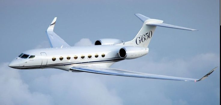 GABRIELLE'S AMAZING FANTASY CLOSET | Gulfstream G-650 Twin-Engine Business Jet Airplane Desktop Wood Model SML