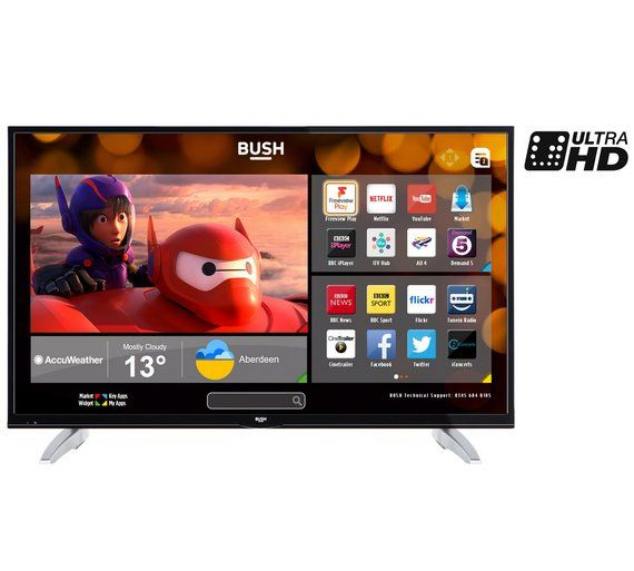 Buy Bush 40 inch 4K Ultra HD Smart TV with Freeview Play at Argos.co.uk - Your Online Shop for Televisions, Televisions and accessories, Technology.