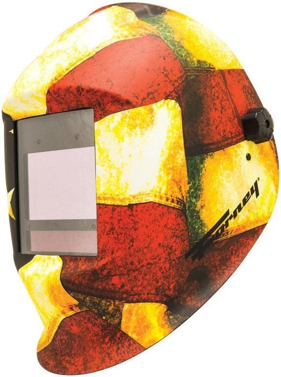Forney 55712 Master Series Patriot Auto-Darkening Welding Helmet, Multicolored