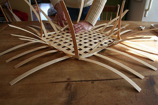 How to make a basket: weaving steps   by SheldonFarmBaskets