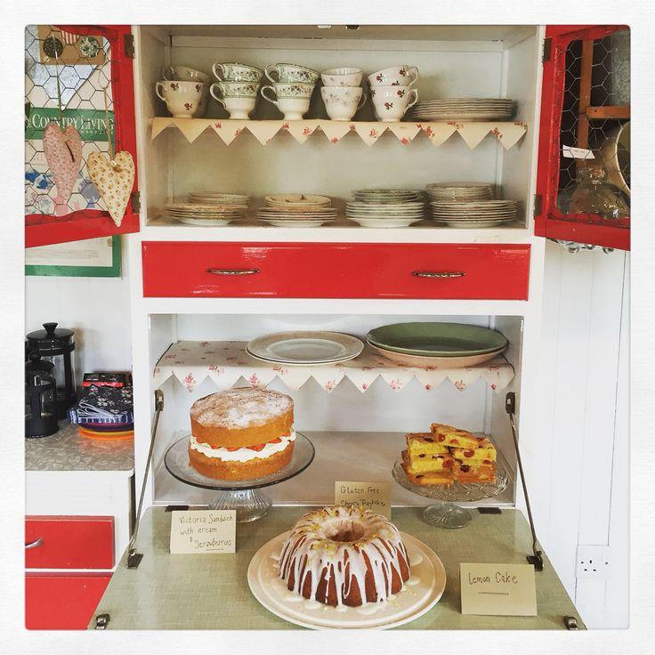 vintage cake display cabinet 3