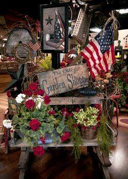 Americana Garden Display...