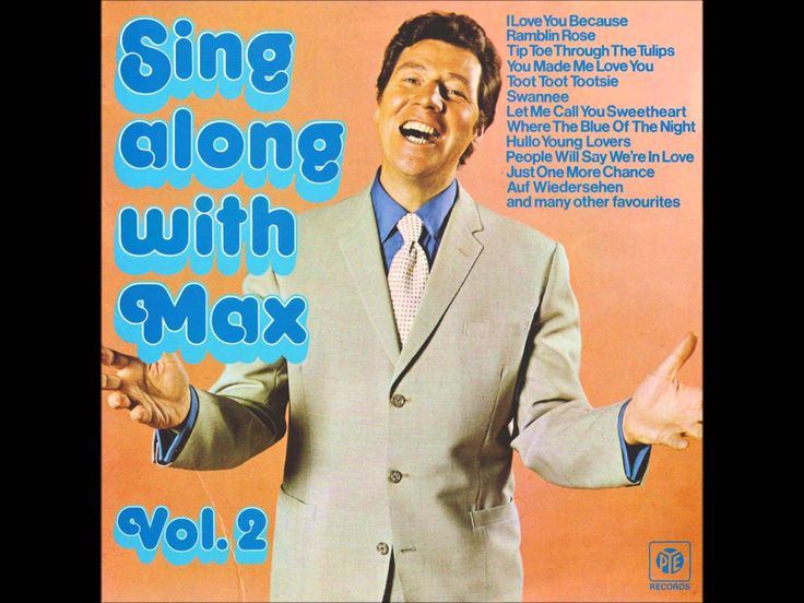 Max Bygraves - Let me call you Sweetheart - Girl of my Dreams - Where th...
