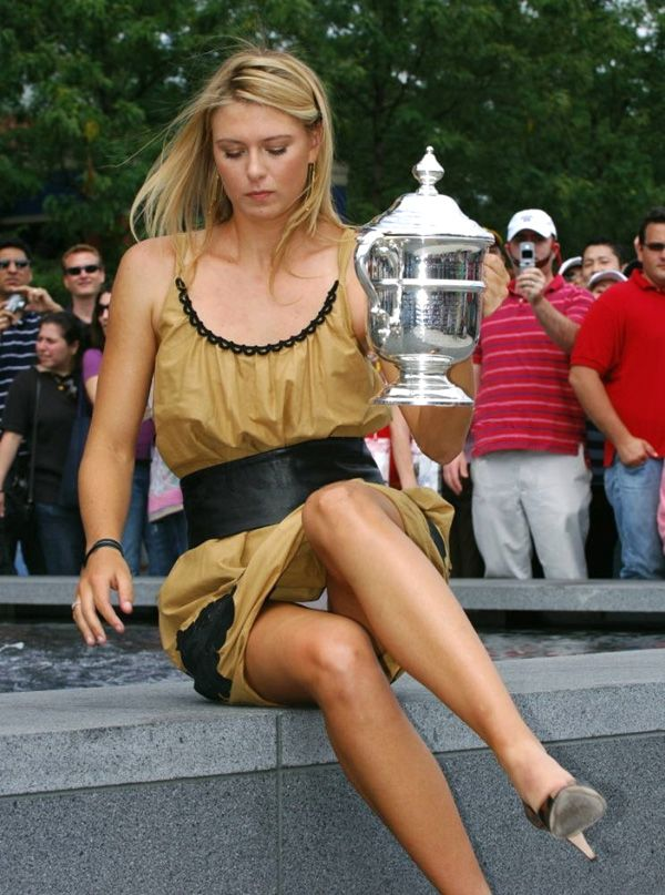 Opinion Tenni upskirt maria sharapova