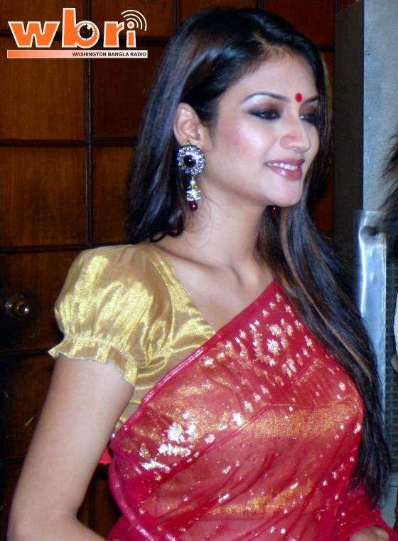 Indian Kolkata Bengali actress NUSRAT JAHAN at premiere of ...